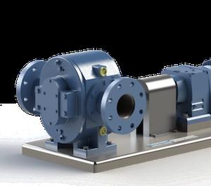 Logrus Broquet external gear pump B 1 mini