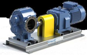 Logrus Broquet external gear pump K 1 mini