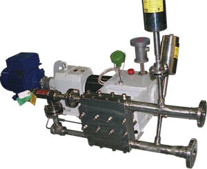 Logrus Seko triplex pump 3C30 1 mini