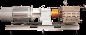 Logrus Seko triplex pump 3C80 1 mini