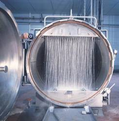 Logrus autoclave water cascade