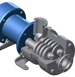 Logrus twin screw pump SLH-4G